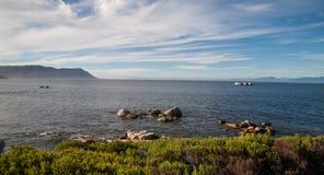 валуны Cape Town пляжа Стоковые Фото
