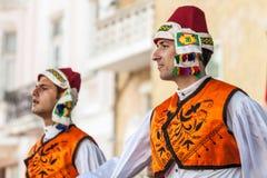 двадцать первый международный фестиваль в Пловдиве, Болгарии Стоковое Изображение