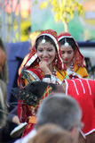 двадцать первый международный фестиваль Vitosha 2017 фольклора Стоковое Изображение