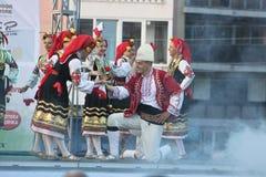 двадцать первый международный фестиваль Vitosha 2017 фольклора Стоковое фото RF
