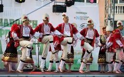 двадцать первый международный фестиваль Vitosha 2017 фольклора Стоковые Фото
