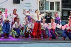 двадцать первый международный фестиваль Vitosha 2017 фольклора Стоковая Фотография RF