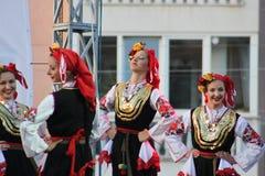 двадцать первый международный фестиваль Vitosha 2017 фольклора Стоковые Изображения