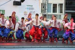 двадцать первый международный фестиваль Vitosha 2017 фольклора Стоковые Фотографии RF