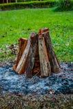 валы снежка природы пущи предпосылок деревянные Стоковое Фото