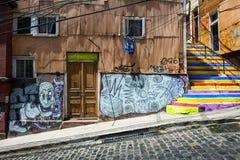 Вальпараисо, чилеански Стоковое Изображение RF