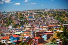 Вальпараисо, чилеански Стоковое Изображение