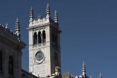 Вальядолид Кастилия y Леон, Испания: Мэр площади Стоковая Фотография