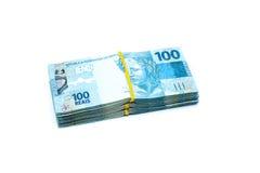 Валюта Бразилии Стоковое Фото