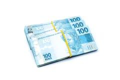 Валюта Бразилии Стоковая Фотография