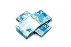 Валюта Бразилии Стоковые Фотографии RF