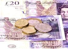 валюта Великобритания Стоковая Фотография RF