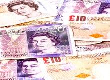 валюта Великобритания Стоковое фото RF
