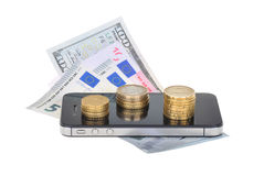 Валюта и дело Стоковая Фотография RF