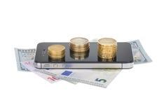 Валюта и дело Стоковое Изображение RF