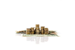 Валюта мира под защитой доллара Стоковое Изображение RF