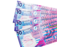 Валюта доллара Гонконга Стоковая Фотография RF
