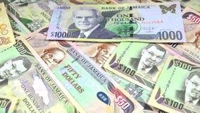валюта 4k ямайки - концепция банка и экономической стабильности сток-видео