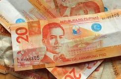 валюта philippine стоковое фото
