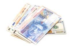 валюты международные Стоковые Изображения
