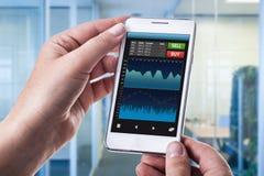 Валюты app Стоковая Фотография RF