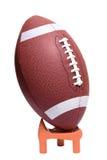 введение мяча в игру футбола коллежа готовое Стоковые Фото