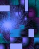 введенное в моду самомоднейшее абстрактного искусства Стоковые Изображения RF