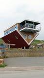 Вверх ногами дом в Wertheim Стоковое Фото
