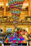 Вверх ногами рождественская елка Стоковые Изображения