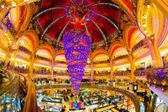 Вверх ногами рождественская елка Стоковые Изображения RF