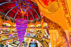 Вверх ногами рождественская елка Стоковое фото RF