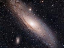 Вверх по близкой и личному с M31, галактика Андромеды стоковые фотографии rf