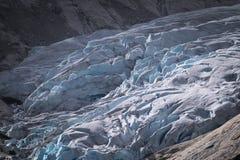 Вверх по близкому и личной с ледником стоковая фотография rf