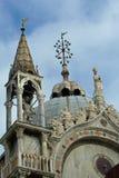 Вверх по на крыше базилики St Mark Стоковые Изображения