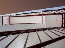 Вверх по через лестнице стоковая фотография rf