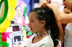 вводить в моду партии волос Стоковые Изображения