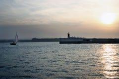 вводя порт Стоковые Фото