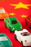 ввозы 1 автомобиля китайца дешево Стоковое фото RF