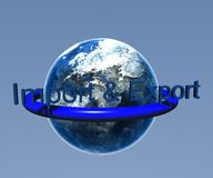 Ввоз и экспорт Стоковые Фотографии RF