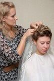 вводить в моду волос Стоковые Фотографии RF