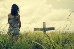 Вдова на печали Стоковые Фото