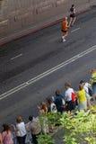 Вдоль дороги марафона Стоковое фото RF