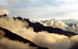 вдоль тропки inca Стоковое Изображение RF