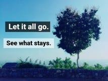 Вдохновляющая цитата стоковое изображение
