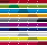 вебсайт вектора меню штанги Стоковая Фотография RF
