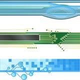 вебсайт знамени предпосылок иллюстрация вектора