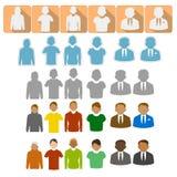 вебсайт сети проекта представления людей интернета икон применения ваш Стоковое Изображение RF