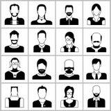 вебсайт сети проекта представления людей интернета икон применения ваш Стоковые Изображения