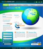 вебсайт шаблона разрешений дела иллюстрация штока