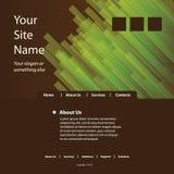 вебсайт шаблона Стоковое фото RF
